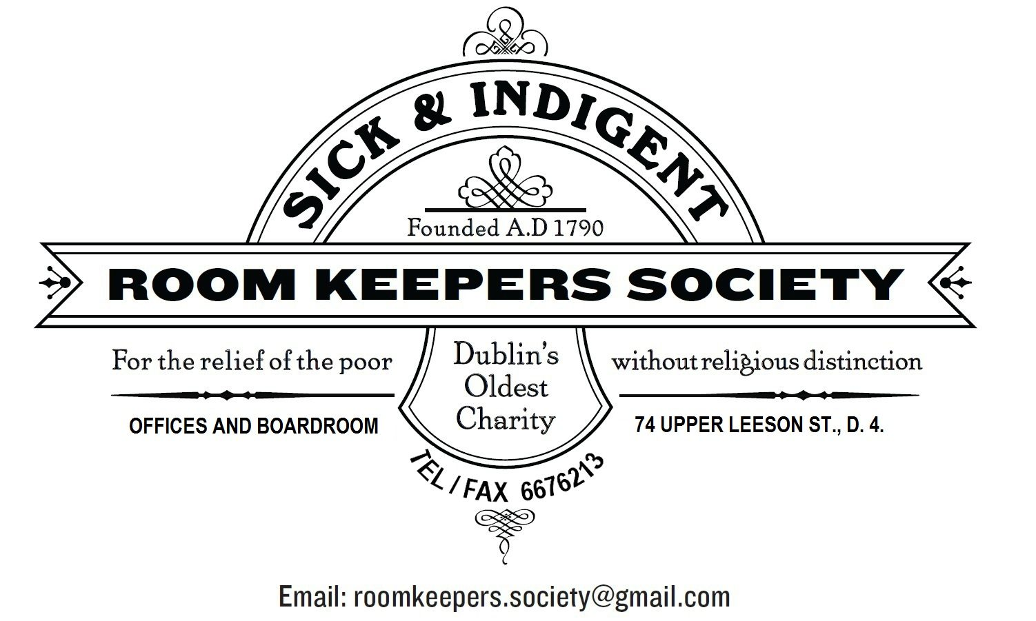 the sick and indigent society dublin s oldest charity logo