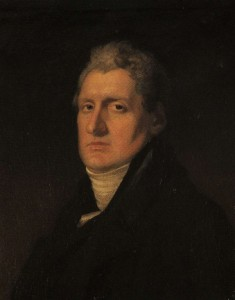 Samuel Rosborough 1757 -1832. A founder of the Sick and Indigent Roomkeepers' Society 1790. (Reproduced from a portrait in the possession of the Society)