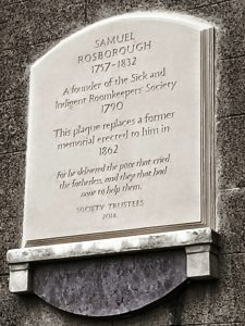 Samuel Rosborough plaque
